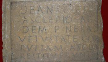 Epigrafski spomenik na latinskom jeziku
