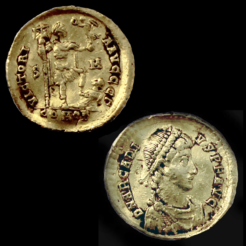 Bizantski zlatnik, Borak – Kovačina, 4. st.