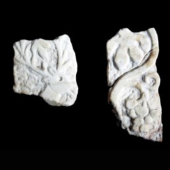 Ulomci mramornih zidnih oplata, Gata – Crkva sv. Ciprijana, sredina 6. st.
