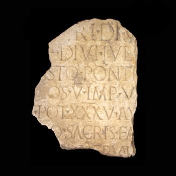 Natpis iz doba cara Tiberija, Omiš – Baučići, 33. / 34. g.
